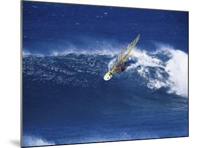 Windsurfer Surfing--Mounted Photographic Print