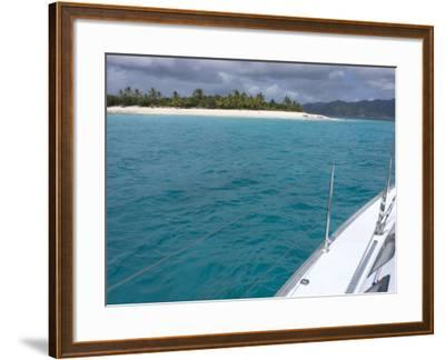 Sandy Cay, British Virgin Islands--Framed Photographic Print