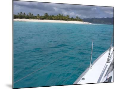 Sandy Cay, British Virgin Islands--Mounted Photographic Print