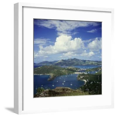 English Harbour, Antigua--Framed Photographic Print