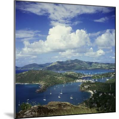 English Harbour, Antigua--Mounted Photographic Print