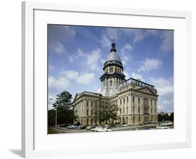 State Capitol, Springfield, Illinois, USA--Framed Photographic Print