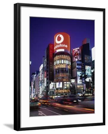 Ginza, Tokyo, Japan--Framed Photographic Print
