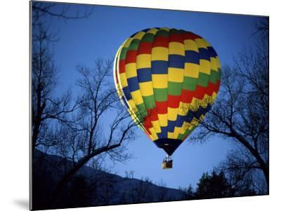 Bright, Colorful Hot Air Ballooon--Mounted Photographic Print