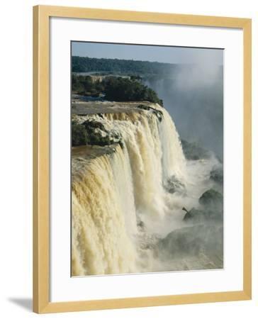 Iguassu Falls, Brazil--Framed Photographic Print