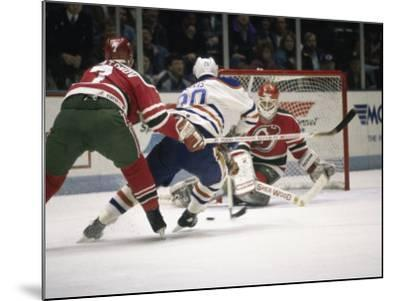Ice Hockey East Rutherford, New Jersey, USA--Mounted Photographic Print