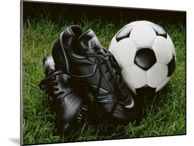 Soccer Still Life--Mounted Photographic Print
