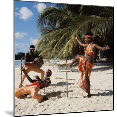 Limbo Dance, Barbados--Mounted Photographic Print