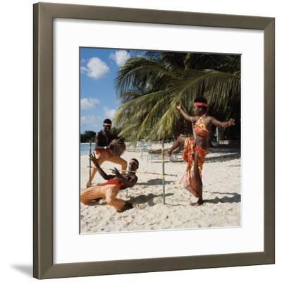 Limbo Dance, Barbados--Framed Photographic Print