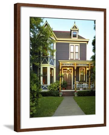 Victorian Style Home--Framed Photographic Print