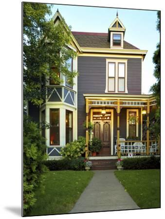Victorian Style Home--Mounted Photographic Print