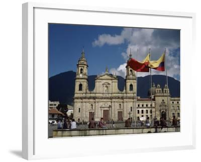Cathedral, Bogota, Colombia--Framed Photographic Print