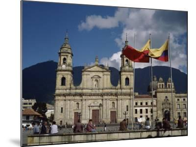 Cathedral, Bogota, Colombia--Mounted Photographic Print