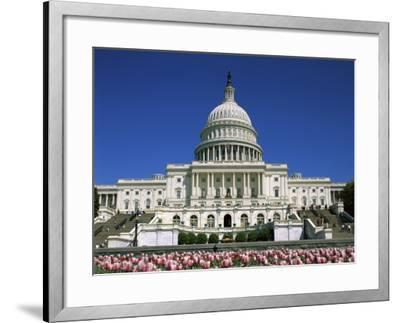 Capitol Building Washington, D.C. USA--Framed Photographic Print