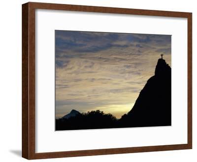 Christ the Redeemer Statue, Rio de Janeiro, Brazil--Framed Photographic Print
