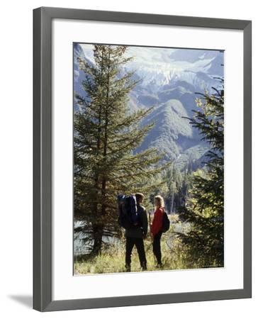 Portage Lake, Alaska, USA--Framed Photographic Print
