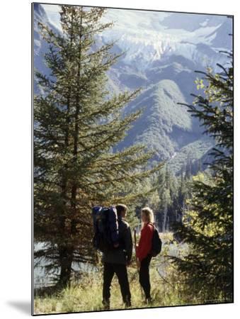 Portage Lake, Alaska, USA--Mounted Photographic Print