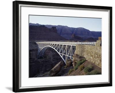 Navajo Bridge Grand Canyon National Park, Arizona, USA--Framed Photographic Print