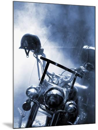 Close-up of a Motorcycle--Mounted Photographic Print