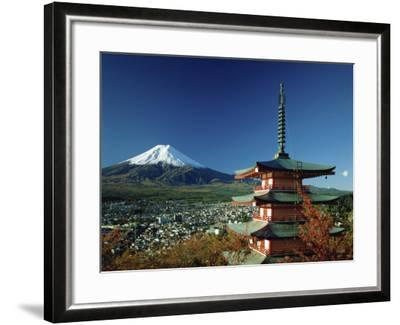 Mount Fuji Japan--Framed Photographic Print