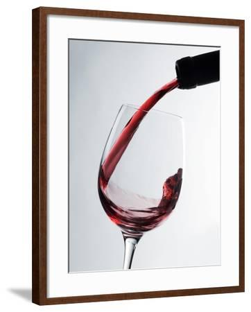Pouring Red Wine-Caroline Martin-Framed Photographic Print