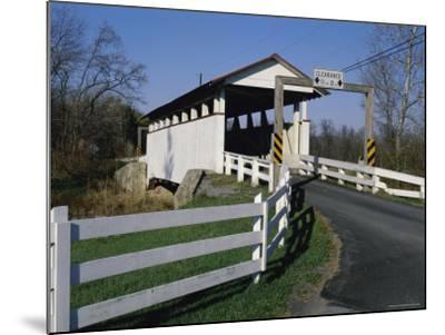Snooks Covered Bridge, Bedford County, Pennsylvania, USA--Mounted Photographic Print