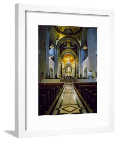 Basilica of the National Shrine of the Immaculate Conception Washington, D.C. USA--Framed Photographic Print