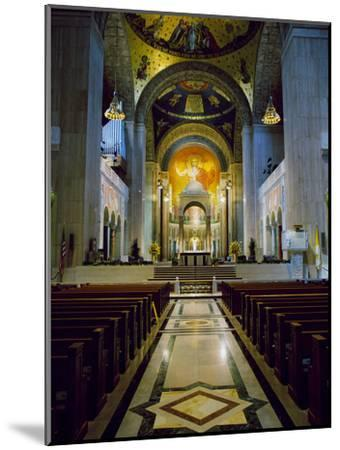 Basilica of the National Shrine of the Immaculate Conception Washington, D.C. USA--Mounted Photographic Print