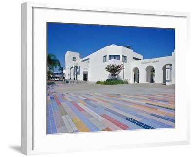 Oceanside Civic Center, San Diego, California, USA--Framed Photographic Print