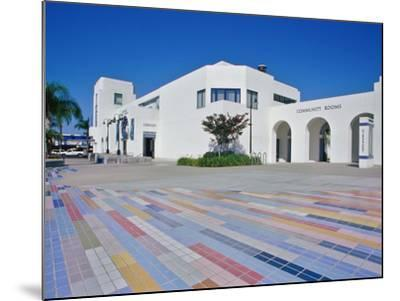 Oceanside Civic Center, San Diego, California, USA--Mounted Photographic Print