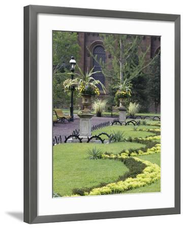 Enid A. Haupt Garden, Washington, D.C. USA--Framed Photographic Print