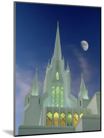 Mormon Temple, San Diego, California, USA-Richard Cummins-Mounted Photographic Print
