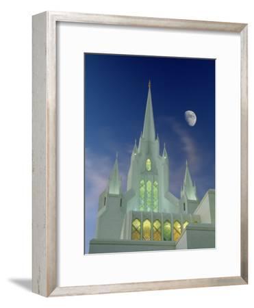 Mormon Temple, San Diego, California, USA-Richard Cummins-Framed Photographic Print