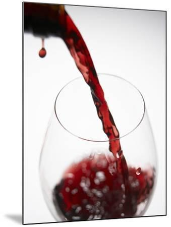 Pouring Red Wine-Joerg Lehmann-Mounted Photographic Print