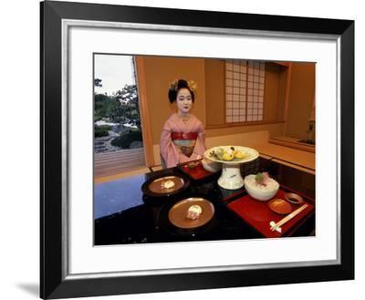 Maiko, Kyoto, Japan--Framed Photographic Print