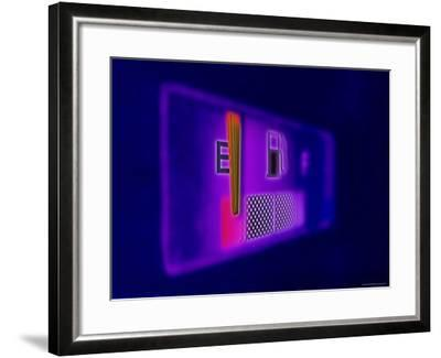 Gas Gauge Showing Empty--Framed Photographic Print