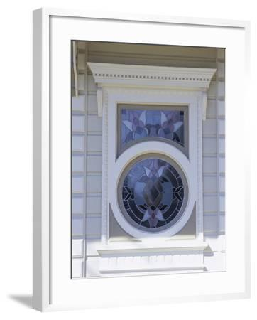 Window on a Building--Framed Photographic Print