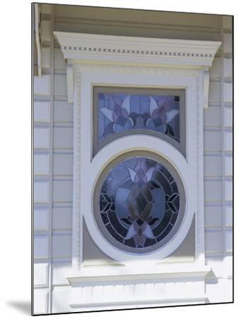 Window on a Building--Mounted Photographic Print