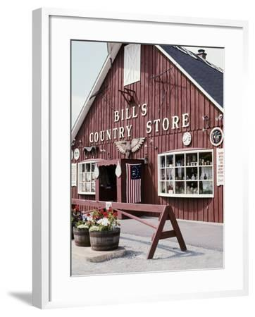 Country Store, Vermont, USA--Framed Photographic Print