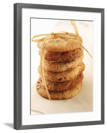 Cookies, Stacked and Tied with String-Francine Reculez-Framed Photographic Print