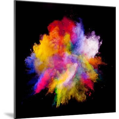 Colored Dust-Jag_cz-Mounted Photographic Print