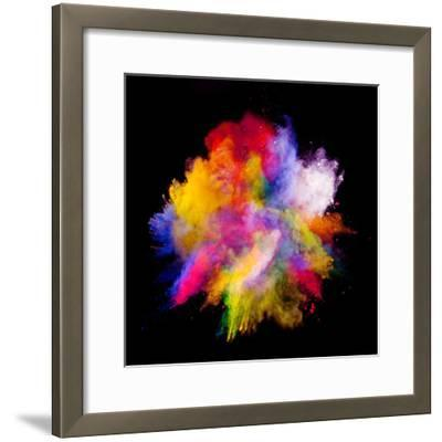 Colored Dust-Jag_cz-Framed Photographic Print