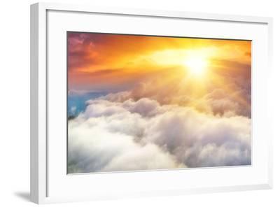 Sunset-denis_333-Framed Photographic Print