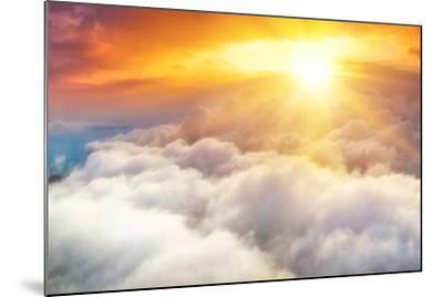 Sunset-denis_333-Mounted Photographic Print