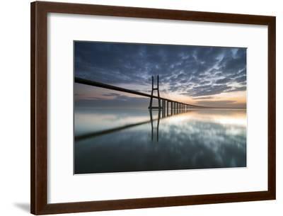 Ponte Vasco Da Gama E Rio Tejo- p_rocha-Framed Photographic Print