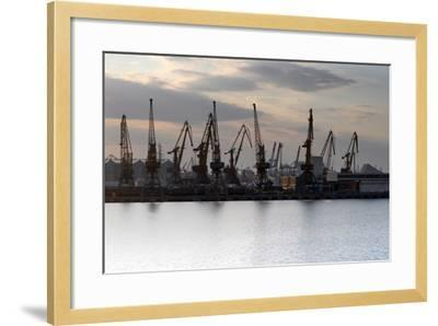 Port Odessa Ukraine-vector_master-Framed Photographic Print