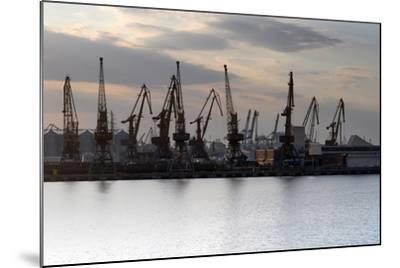 Port Odessa Ukraine-vector_master-Mounted Photographic Print