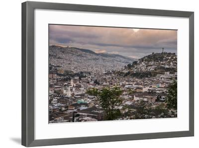 Tramonto a Quito-tommypic-Framed Photographic Print