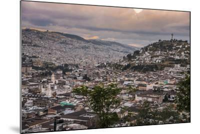 Tramonto a Quito-tommypic-Mounted Photographic Print