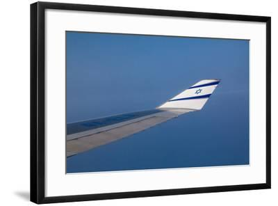 Israeli Airplane Wing-EvanTravels-Framed Photographic Print